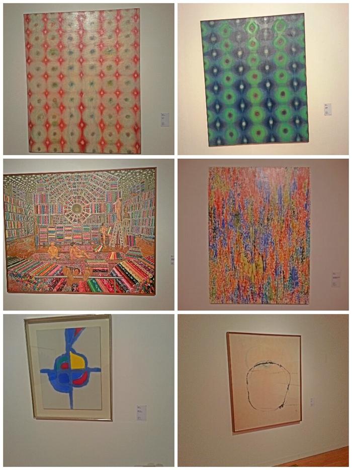 여러 미술작품 사진