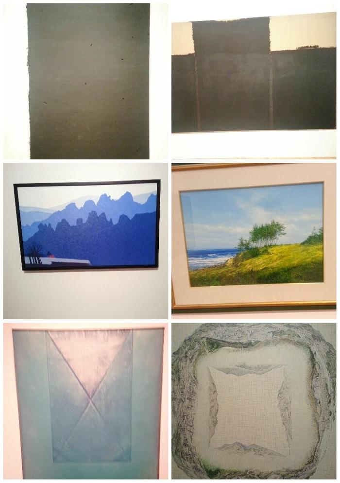 여러 미술 작품 사진