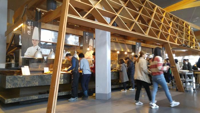 식당가게 내부 모습
