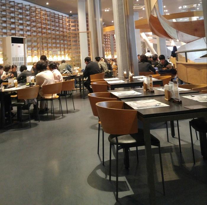 식당 가게 내부 모습