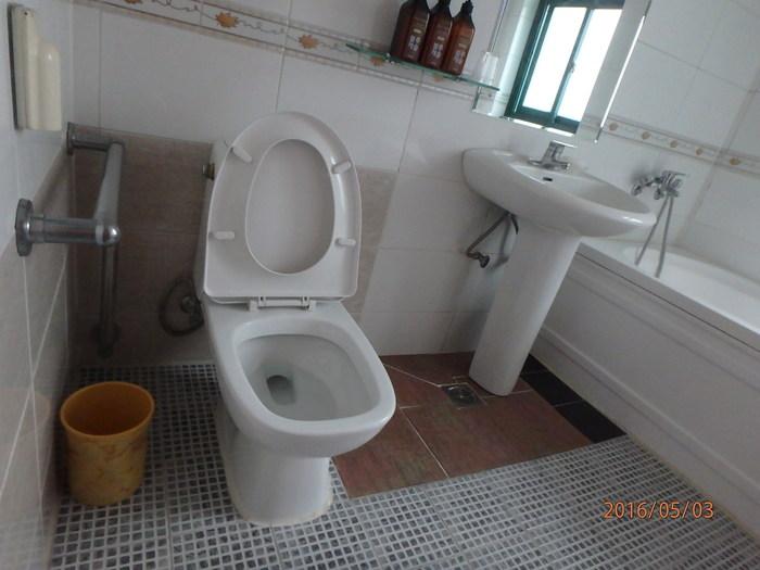객실 화장실 모습