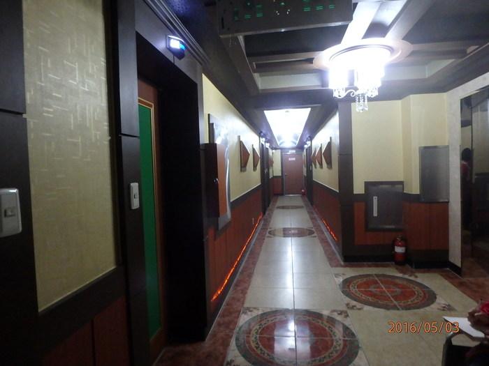 2층 객실 복도 모습