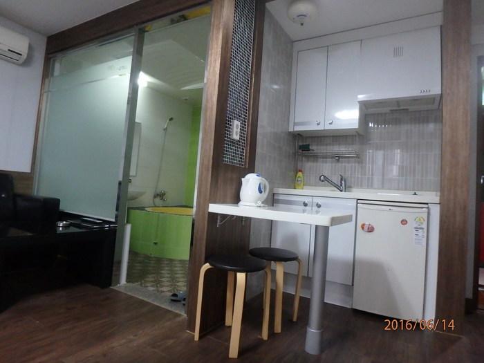2층 콘도형 객실 모습